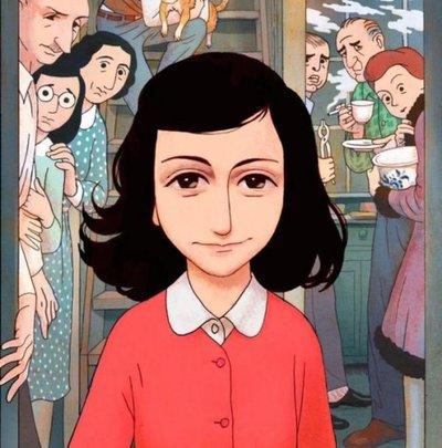 En una cinta de animación, la historia de Ana Frank cobra vida una vez más