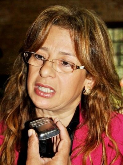 CDE: clan Zacarías opera con el oficialismo, según Lilian de Aguinagalde