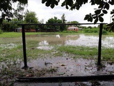 """El Chaco está """"bajo agua"""""""