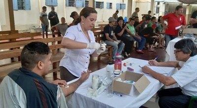 """Dan atención médica a presos de """"La Esperanza"""""""