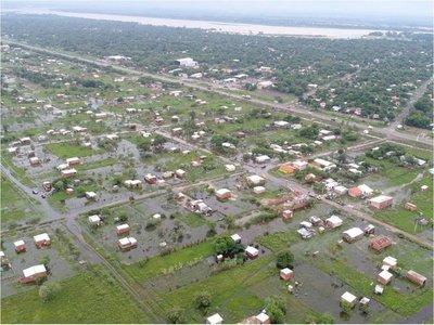 Por inundación, hace dos semanas niños no van a clases en Remansito