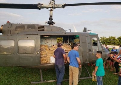 Llega a Paso Barreto la ayuda humanitaria