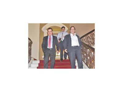 Diputados tuvieron llamativa reunión con el vicepresidente
