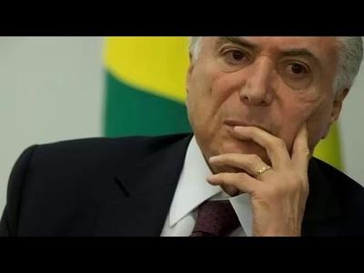 DETIENEN  A MICHEL TEMER, EX PRESIDENTE DE BRASIL