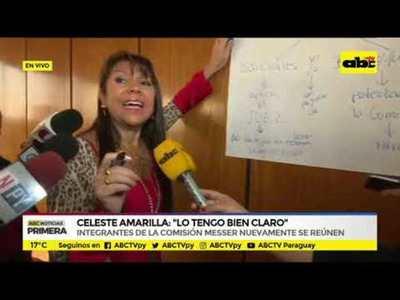Celeste Amarilla: Lo tengo bien claro