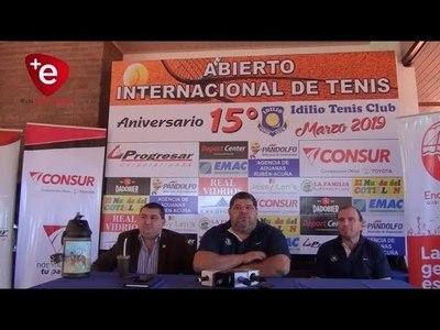 ABIERTO INTERNACIONAL DE TENIS,  HOMENAJE A LOS 404 AÑOS DE ENCARNACIÓN