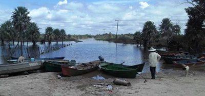 Alto Paraguay prevé declararse en estado de emergencia por inundaciones