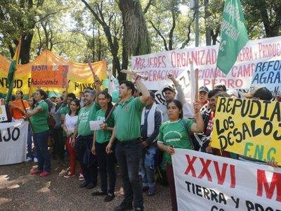 Imágenes de la Marcha Campesina