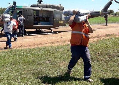 Asistencia llega a zonas aisladas de Concepción