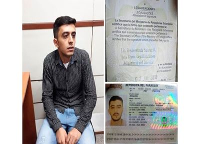 Detienen en el Pettirossi a árabe con supuesto pasaporte falso
