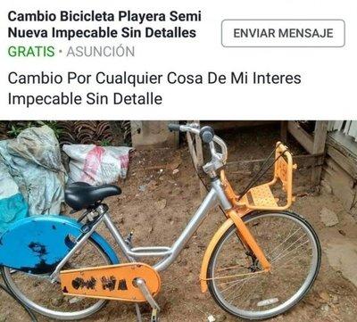 Hurtan bici de Comuna