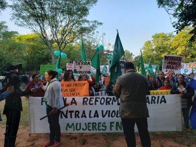 Con menor convocatoria, FNC realizó XXVI marcha campesina