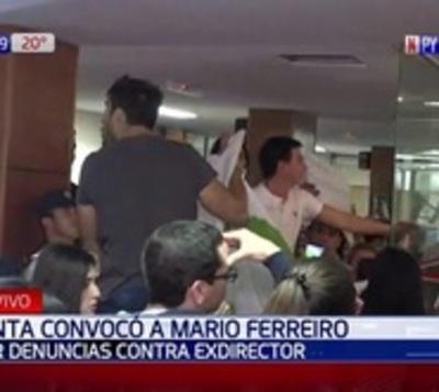 Incidentada sesión en Junta Municipal de Asunción