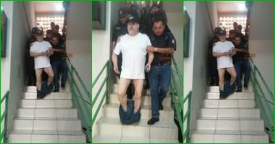 Paraguayo Cubas se cagó ante la justicia y cintarea a Juez en CDE.