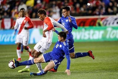 Paraguay cayó por la mínima ante Perú en el debut de Berizzo