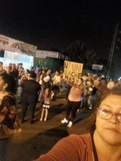 Barcequillo: No dan treguas a la Municipalidad