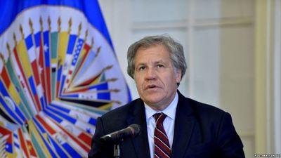 """Titular de OEA pide """"actuar"""" ante desmanes de Maduro"""
