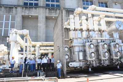 Iniciarán obras para acceder al 100 % de la energía paraguaya de Yacyretá