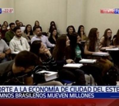 Economía esteña en alza con llegada de estudiantes brasileños