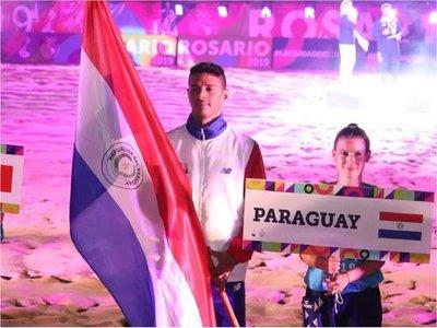 Paraguay cerró con 5 preseas