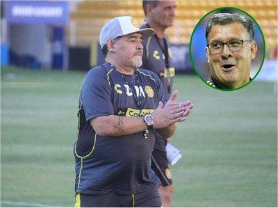 Maradona dice que el Tata Martino le dará muchas alegrías a México