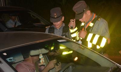 Caminera registró 16 ebrios al volante en Coronel Oviedo – Prensa 5