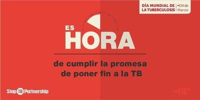 Hoy lanzan campaña de lucha contra la tuberculosis