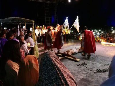 Nueva edición de semana santa en el Cerro Ñemby