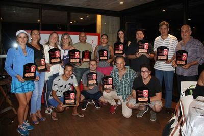 El Weekend de tenis del Rakiura premió a los mejores