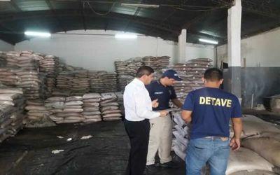 Incautaron 200 mil kilos de azúcar presuntamente de contrabando