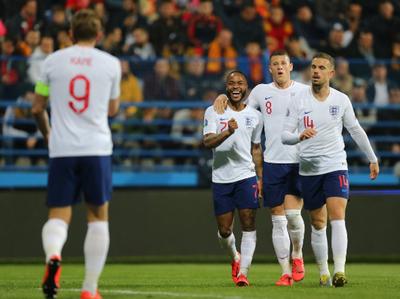 Inglaterra sumó otra goleada: esta vez aplastó 1-5 a Montenegro