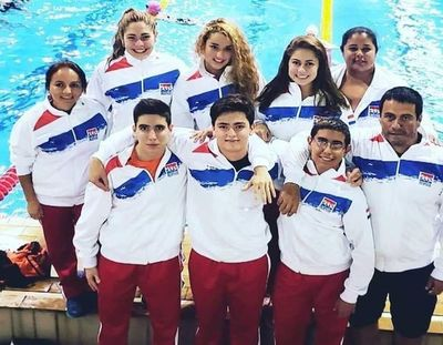 Paraguay estará en Sudamericanos de Natación en aguas abiertas y en pileta