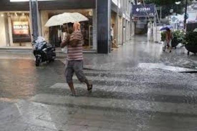 Vientos del sur y lluvia para este martes