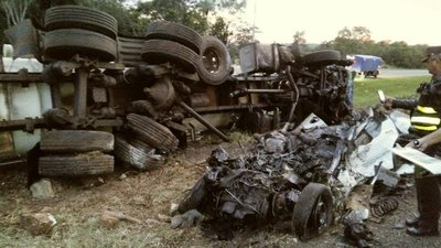 Dos muertos en accidente