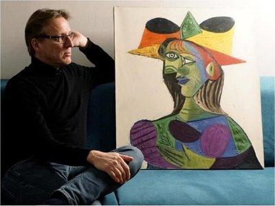 Hallan un Picasso robado a jeque árabe hace 20 años