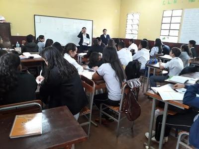 Sensibilizan a estudiantes de Minga Guazú contra el Aedes