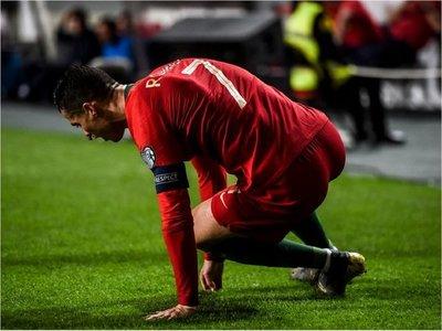 Parte médico de Juventus sobre la lesión de Cristiano Ronaldo