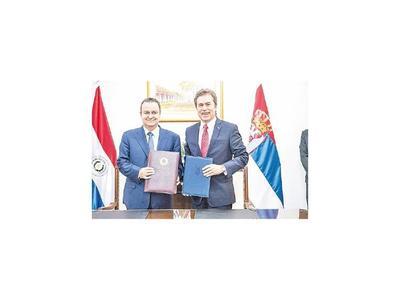 Paraguay y Serbia avanzan en  el nivel de relacionamiento