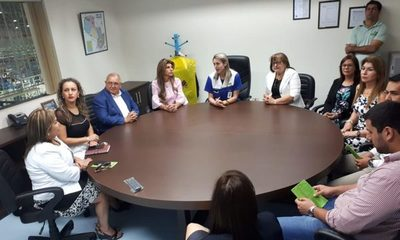 Comitiva de la municipalidad de Ciudad del Este visitó Zona Franca Global