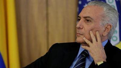 Fiscalía brasileña pide que Temer sea enjuiciado en otro caso de corrupción