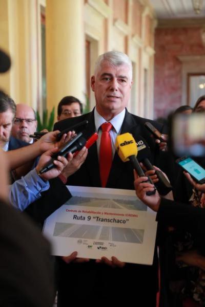 Gobierno inicia proceso para la reconstrucción de Ruta Transchaco