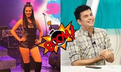 Bailarina en contra de Sebas Rodríguez