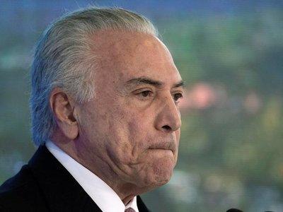 Justicia de Brasil acepta una nueva denuncia contra el Michel Temer