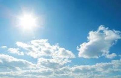 Fin de semana caluroso y lluvias al inicio de abril