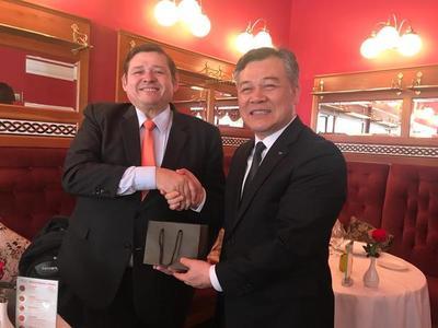 Corea ampliará su cooperación técnica con el Catastro Nacional