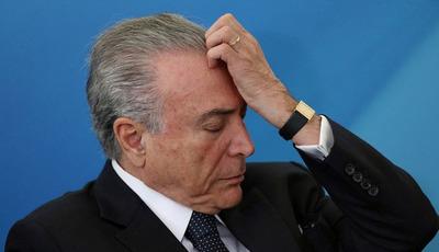 Justicia brasileña aceptó una nueva denuncia por soborno contra Temer