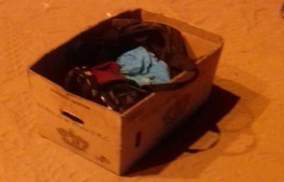Hallan a un recién nacido muerto en una caja