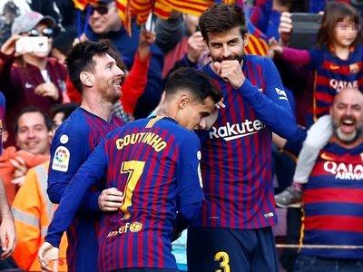 Messi resuelve el derbi en veinte minutos