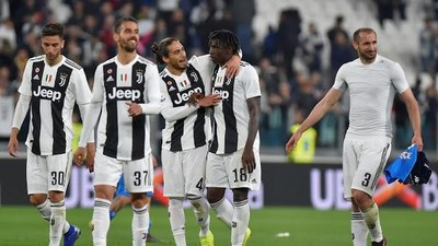 Juventus se corta solo en la punta de la Serie A