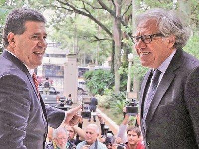 La OEA tomó nota de la acción de Cartes para jurar como senador